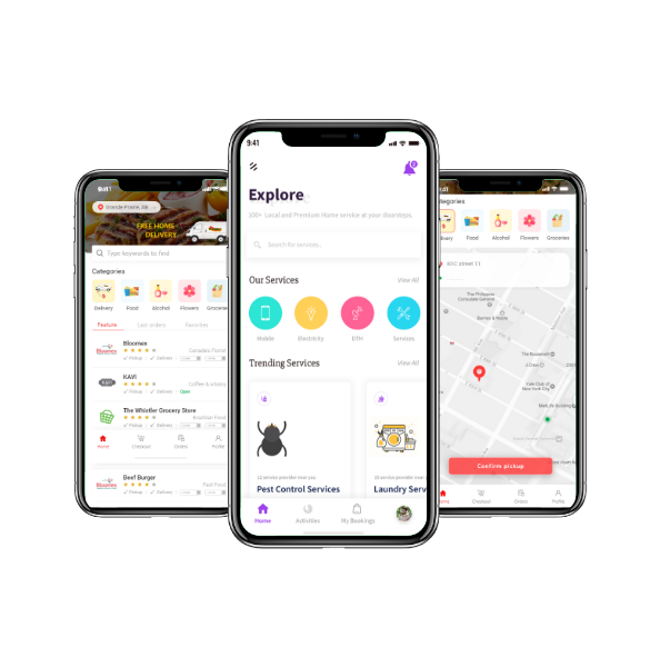 Online Medicine Delivery Service Provider App