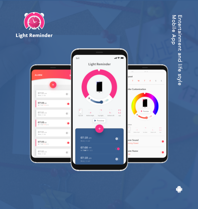 Entertainment and Life Style Mobile App