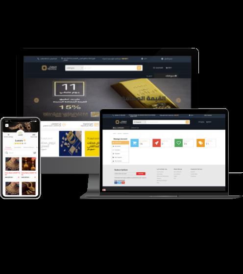 Jewelry eCommerce Platform