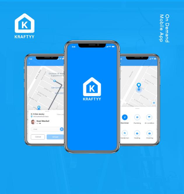 On-Demand Plumbing Services App