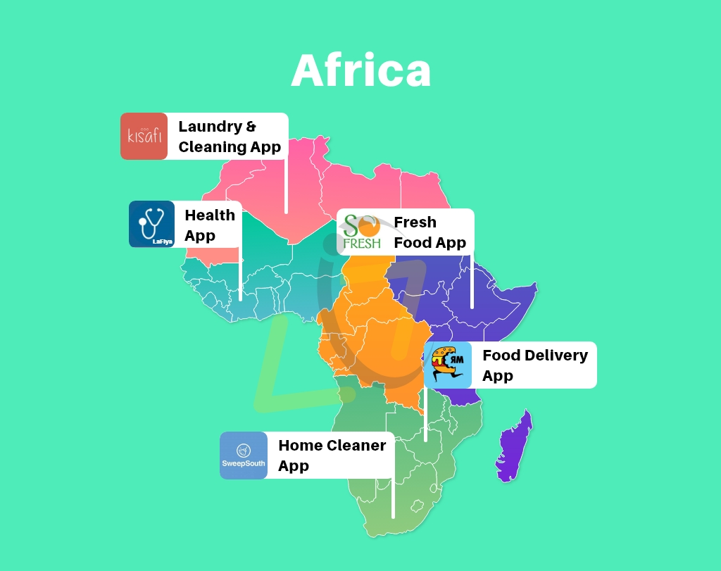 Best On-Demand Apps in Africa